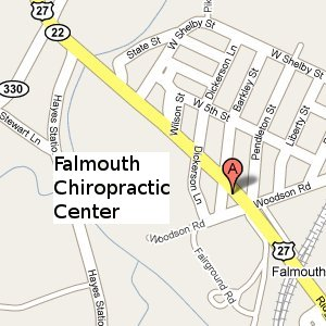 Falmouth Chiropractic Center Search Map